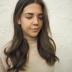 大人かわいい ロング 外国人風 デート ヘアスタイルや髪型の写真・画像