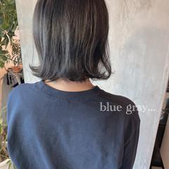 ブリーチ 外ハネ ナチュラル ハイライト ヘアスタイルや髪型の写真・画像
