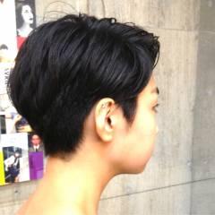 ショート ヘアスタイルや髪型の写真・画像