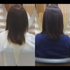 大人ミディアム ナチュラル ミディアム 髪質改善カラー ヘアスタイルや髪型の写真・画像