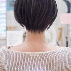 ショートヘア フェミニン 40代 ショート ヘアスタイルや髪型の写真・画像
