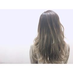 ストリート ハイライト グラデーションカラー 外国人風 ヘアスタイルや髪型の写真・画像