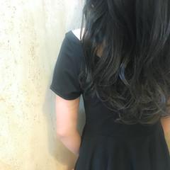 イルミナカラー 透明感 暗髪 ブルージュ ヘアスタイルや髪型の写真・画像