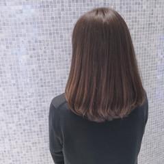 ナチュラル 簡単 ミディアム グラデーションカラー ヘアスタイルや髪型の写真・画像