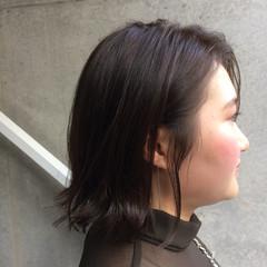 ボブ ウェットヘア タンバルモリ 外ハネ ヘアスタイルや髪型の写真・画像