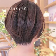 ナチュラル ショートヘア ベリーショート 抜け感 ヘアスタイルや髪型の写真・画像
