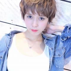 ストリート 外国人風 パンク ショート ヘアスタイルや髪型の写真・画像