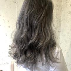 グラデーションカラー ストリート ロング ダブルカラー ヘアスタイルや髪型の写真・画像