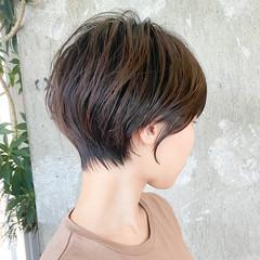 ナチュラル ショート ショートカット ショートヘア ヘアスタイルや髪型の写真・画像