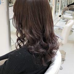 外国人風 アッシュグラデーション セミロング 外国人風カラー ヘアスタイルや髪型の写真・画像