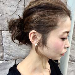 ヘアアレンジ ニュアンス ストリート 大人女子 ヘアスタイルや髪型の写真・画像