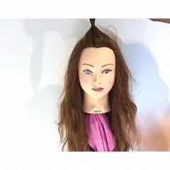 ヘアアレンジ 雨の日 オフィス ロング ヘアスタイルや髪型の写真・画像
