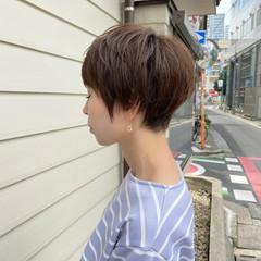 ミニボブ ショートヘア ベリーショート ショート ヘアスタイルや髪型の写真・画像