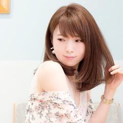 大人かわいい かわいい デート フェミニン ヘアスタイルや髪型の写真・画像
