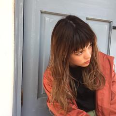 アンニュイ ガーリー ロング 春 ヘアスタイルや髪型の写真・画像