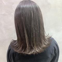 ミディアム ストリート グレージュ スポーツ ヘアスタイルや髪型の写真・画像