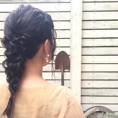まとめ髪 ヘアアレンジ 結婚式 ロング ヘアスタイルや髪型の写真・画像