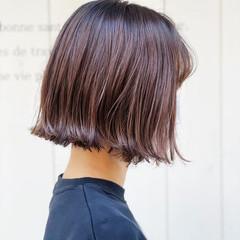 ショートヘア ベリーショート 切りっぱなしボブ ショート ヘアスタイルや髪型の写真・画像