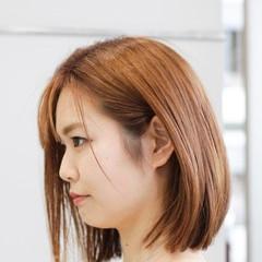 切りっぱなしボブ ミニボブ ナチュラル 髪質改善 ヘアスタイルや髪型の写真・画像