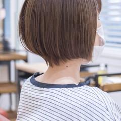 ショートヘア ショートボブ ショート フェミニン ヘアスタイルや髪型の写真・画像