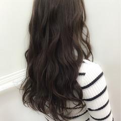 ゆるふわ ナチュラル 暗髪 冬 ヘアスタイルや髪型の写真・画像