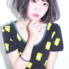 暗髪 フェミニン グレージュ 外国人風 ヘアスタイルや髪型の写真・画像