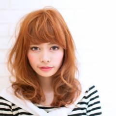 モテ髪 ガーリー ナチュラル フェミニン ヘアスタイルや髪型の写真・画像