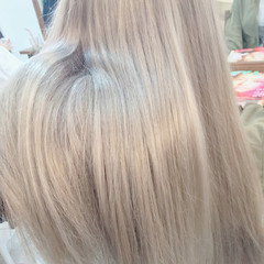 金髪 ストリート 外国人風カラー ハイトーン ヘアスタイルや髪型の写真・画像