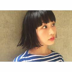ワイドバング 黒髪 ガーリー 暗髪 ヘアスタイルや髪型の写真・画像