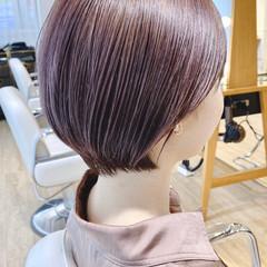 ナチュラル ショートヘア 簡単ヘアアレンジ 大人可愛い ヘアスタイルや髪型の写真・画像