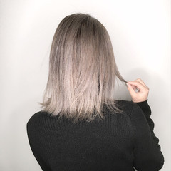 デート バレイヤージュ 外国人風カラー エレガント ヘアスタイルや髪型の写真・画像