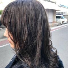 アンニュイほつれヘア アッシュグレージュ デート 透明感 ヘアスタイルや髪型の写真・画像