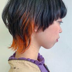ショート モード ヘアスタイルや髪型の写真・画像
