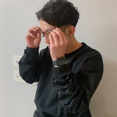 ナチュラル ショート メンズカット メンズヘア ヘアスタイルや髪型の写真・画像
