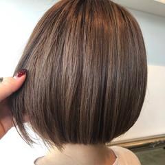 ミルクティーブラウン ミルクティーグレージュ 透け感ヘア ショコラブラウン ヘアスタイルや髪型の写真・画像