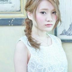 ショート ガーリー 簡単ヘアアレンジ ヘアアレンジ ヘアスタイルや髪型の写真・画像