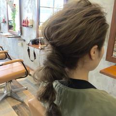 ヘアアレンジ 外国人風カラー ショート 簡単ヘアアレンジ ヘアスタイルや髪型の写真・画像