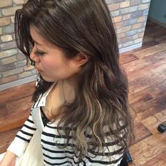 インナーカラー ハイライト 外国人風 ブルージュ ヘアスタイルや髪型の写真・画像