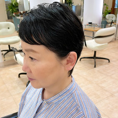 ショート ショートヘア ショートバング ベリーショート ヘアスタイルや髪型の写真・画像