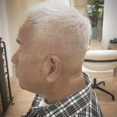 ベリーショート 刈り上げ スキンフェード モード ヘアスタイルや髪型の写真・画像