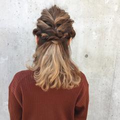 ルーズ 大人かわいい 大人女子 ヘアアレンジ ヘアスタイルや髪型の写真・画像