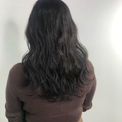 ショコラブラウン ベージュ ブラウンベージュ ロング ヘアスタイルや髪型の写真・画像