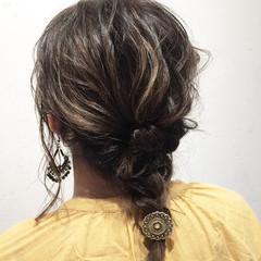 ナチュラル 外国人風 女子力 簡単ヘアアレンジ ヘアスタイルや髪型の写真・画像