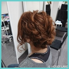 フェミニン デート 女子会 結婚式 ヘアスタイルや髪型の写真・画像