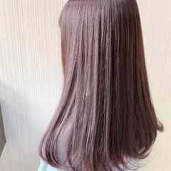 透明感カラー ミディアム 外国人風 簡単ヘアアレンジ ヘアスタイルや髪型の写真・画像