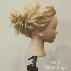 ナチュラル 結婚式 女子会 デート ヘアスタイルや髪型の写真・画像