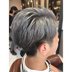 ショート ストリート 外国人風カラー 外国人風 ヘアスタイルや髪型の写真・画像