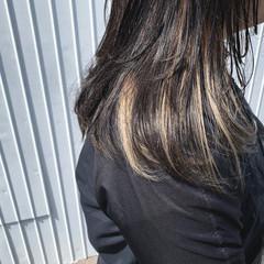3Dハイライト ウルフカット ナチュラル グレージュ ヘアスタイルや髪型の写真・画像