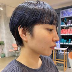 マッシュショート ハンサムショート ショートヘア モード ヘアスタイルや髪型の写真・画像