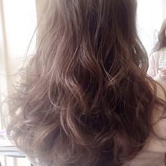 外国人風 大人かわいい ロング ゆるふわ ヘアスタイルや髪型の写真・画像